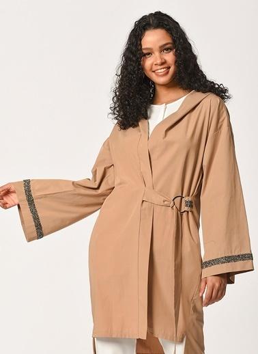 Mizalle Ceket Camel